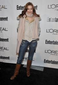 Alexia Fast at the Entertainment Weekly & L'Oreal Paris party.