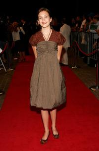 Alexia Fast at the Toronto International Film Festival premiere screening of