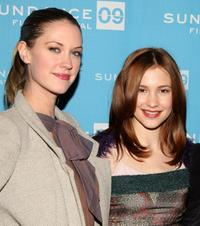 Lauren Lee Smith and Alexia Fast at the screening of