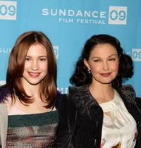 Alexia Fast and Ashley Judd at the screening of