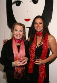 Juliet Mills and Sue Ling Hyde at the Ghettogloss Presents