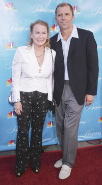 Juliet Mills and Guest at the premiere of