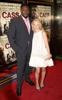 Nonso Anozie and Nathalie Press at the UK premiere of
