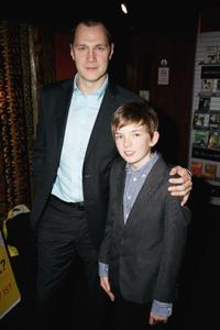 David Morrissey and Bill Milner at the Gala premiere of