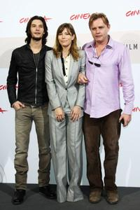 Ben Barnes, Jessica Biel and director Stephan Elliot at the 3rd Rome International Film Festival.