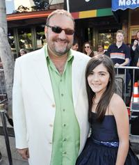 Joel Silver and Isabelle Fuhrman at the premiere of