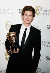 Andrew Garfield at the British Academy Television Awards 2008.