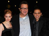 Gillian Jacobs, Tom Arnold and Evan Ross at the premiere of