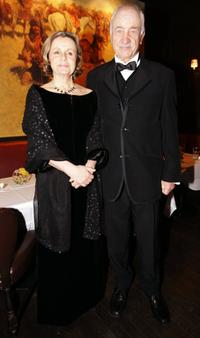 Armin Mueller-Stahl and his wife Gabriela at the first Semper Opera Ball.