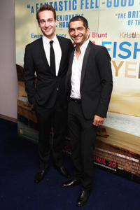 Tom Mison and Amr Waked at the European premiere of