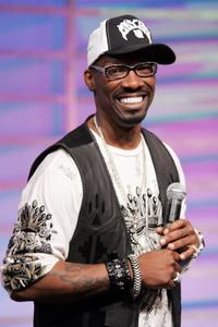 Charlie Murphy at the BET's 106 & Park in New York City.