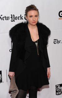 Lena Dunham at the IFP's 20th Annual Gotham Independent Film Awards in New York.