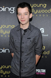 Asa Butterfield at the Young Hollywood Awards in California.