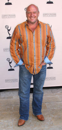 Dean Norris at the Academy of Television Arts and Sciences' Producers Peer Group Emmy pre party in California.