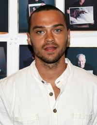 Jesse Williams at the Vogue celebrates the opening of