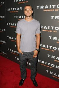 Jesse Williams at the premiere of