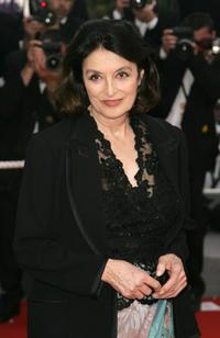 Anouk Aimee at the Palais des Festivals during the 59th International Cannes Film Festival, for the premiere of