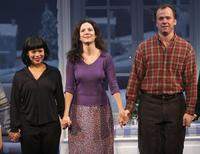 Rosie Perez, Mary Louise Parker and Michael O'Keefe at the play opening of
