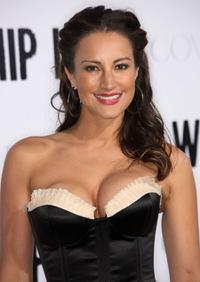America Olivo at the premiere of