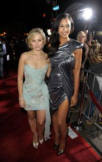 Kristen Bell and Kali Hawk at the premiere of