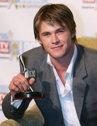Chris Hemsworth at the 47th Annual TV Week Logie Awards.