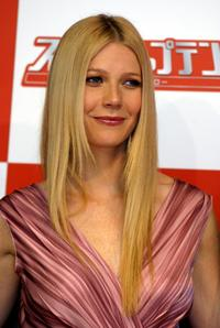 Gwyneth Paltrow at the press conference during the 17th Tokyo International Film Festival.