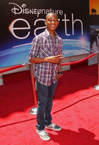 Justin Martin at the premiere of