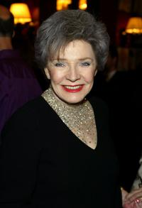 Polly Bergen at the after-party for broadway comedy