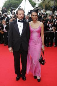 Vincent Perez and Karine Silla at the 57th Cannes International Film Festival.