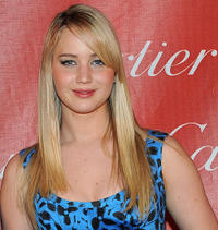 Jennifer Lawrence at the 22nd Annual Palm Springs International Film Festival Awards Gala in California.