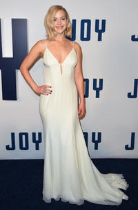 Jennifer Lawrence at the New York premiere of