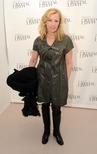 Cindy Sherman at the Molly Ringwald book launch in New York City.
