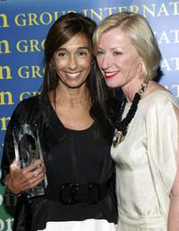 Consuelo Castiglioni and Cindy Sherman at the Fashion Group International's 23rd Annual Night of Stars.