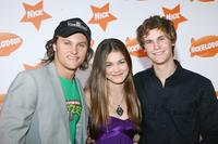 Mark Furze, Charlotte Best and Rhys Wakefield at the Nickelodeon Australian Kids Choice Awards 2007.