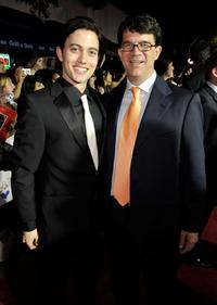 Jackson Rathbone and Wyck Godfrey at the premiere of