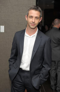 Jeremy Strong at the after party of the Cinema Society with People StyleWatch & J. Crew premiere of