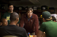 Brad Pitt as Billy Beane in ``Moneyball.''