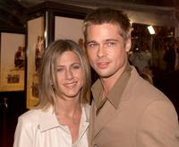 Jennifer Aniston and Brad Pitt at the premiere of