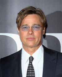 Brad Pitt at the New York premiere of