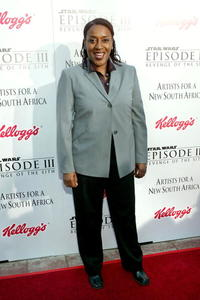 CCH Pounder at the LA premiere of