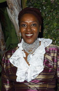 CCH Pounder at the Fox TV Emmy After Party.