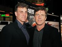 Gary Fleder and Dennis Quaid at the premiere of