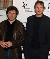 Stephen Rea and Liam Neeson at the NYFF premiere of