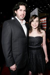 Jason Reitman and Ellen Page at the Centerpiece Gala screening of