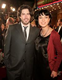 Jason Reitman and Diablo Cody at the premiere of