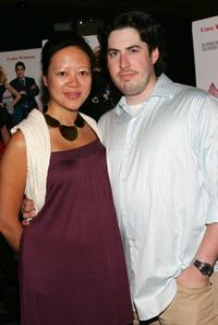 Jason Reitman and wife Michele at the premiere of