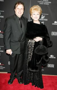 Debbie Reynolds and son Todd at the 7th Annual Costume Designers Guild Awards.