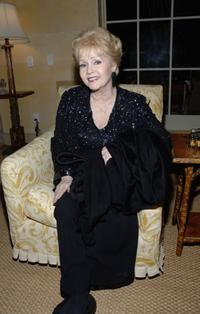 Debbie Reynolds at the House Ear Institute Benefit.