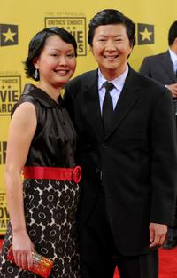 Ken Jeong and Guest at the 15th Annual Critics Choice Movie Awards.