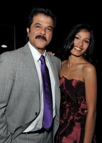 Anil Kapoor and Freida Pinto at the 2008 AFI Fest Tribute To Danny Boyle.